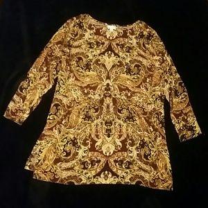 Patterned tunic / dress